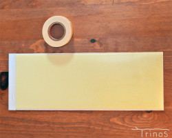 マスキングテープ用ストック帳 ・18mm下地用テープセット